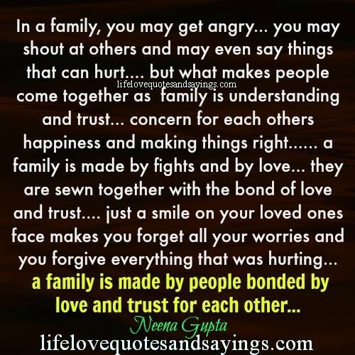 Family hurt quotes