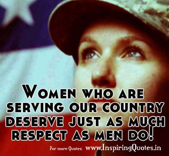 Women Thoughts Quotes: Quotes About Women In Combat. QuotesGram