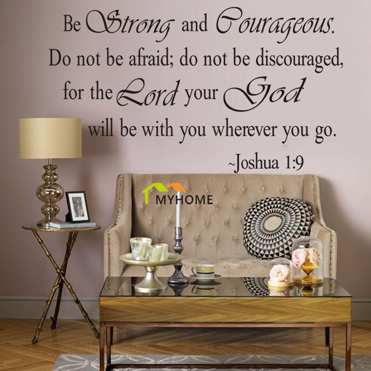 Christian inspirational wall quotes quotesgram for Inspirational wall art for bedroom