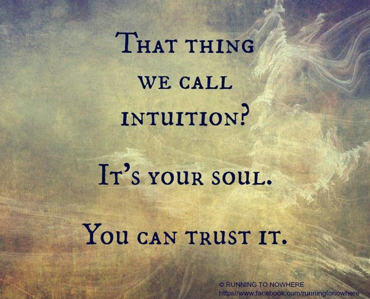 Intuition Quotes And Sayings. QuotesGram