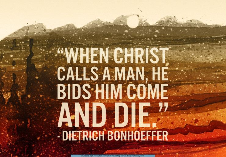 Cheap Grace Dietrich Bonhoeffer Quotes Quotesgram