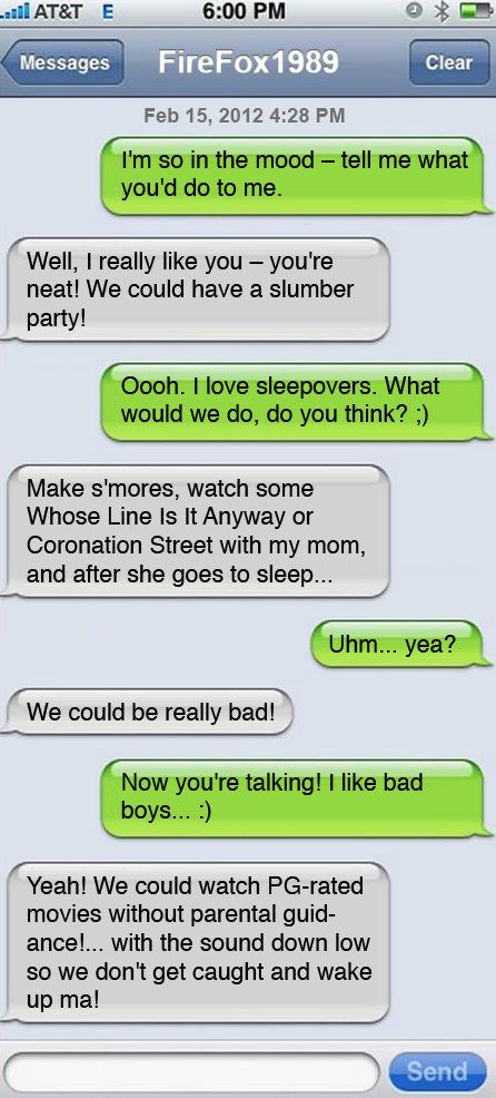good sexting messages to send a guy