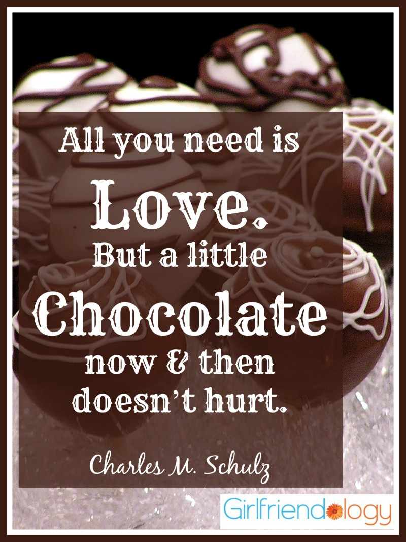 Quotes About Friendship And Chocolate Quotesgram