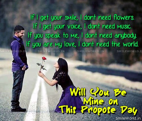 Propose day images quotes for good quotesgram - Boy propose girl with rose image ...