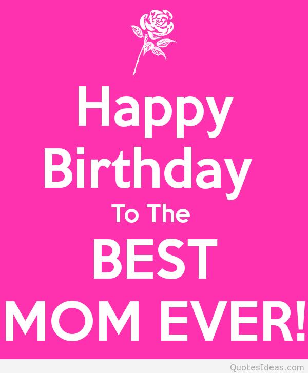 Happy Birthday To My Mom Quotes. QuotesGram