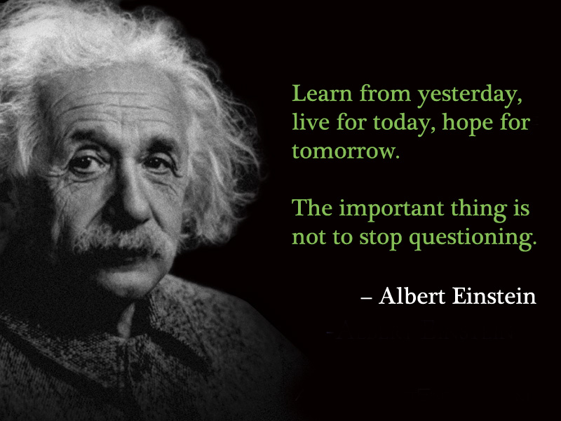 21 Inspiring Quotes by Albert Einstein to Inspire You to ... |Einstein Work Quote