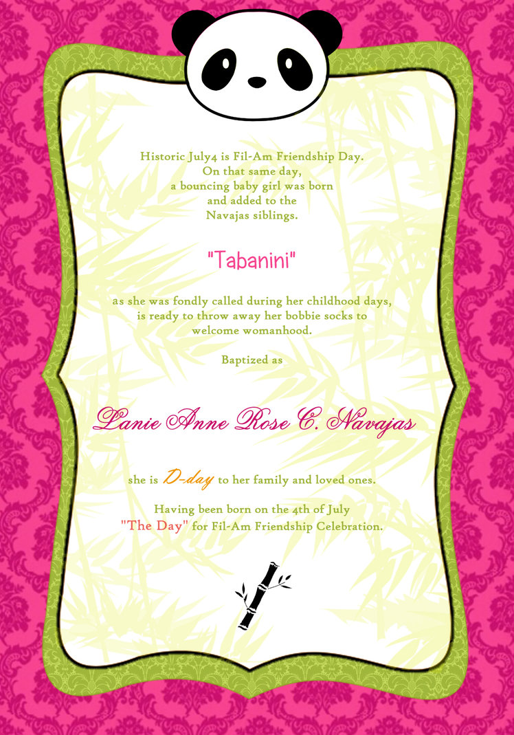 invitation for debut birthday quotes  quotesgram
