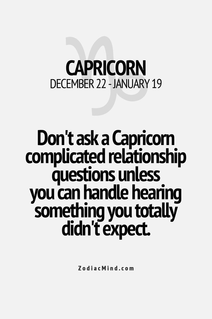 how to have a successful relationship with capricorn man