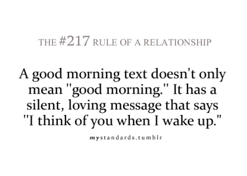 Love Quotes Text: Good Morning Text Quotes. QuotesGram