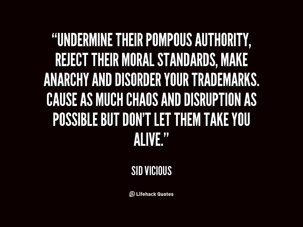 Undermine Authority Undermining Quotes. Qu...