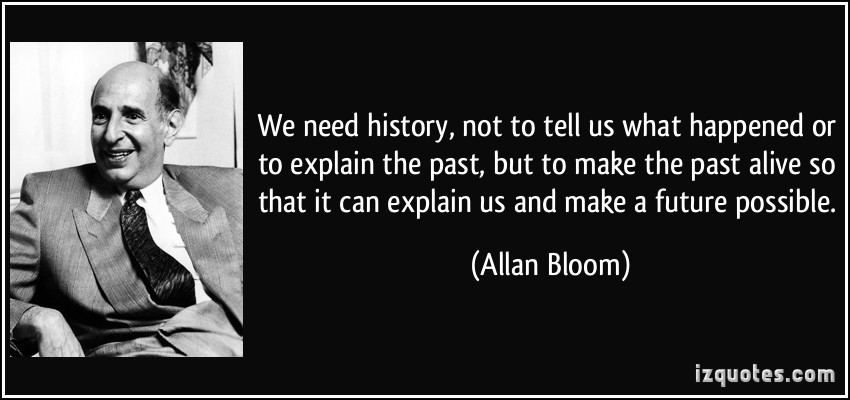 What Had Happened Was Movie Quote: Allan Bloom Quotes. QuotesGram