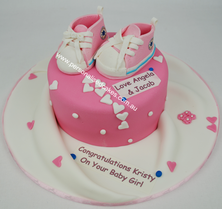 Congratulations Baby Shower Cake