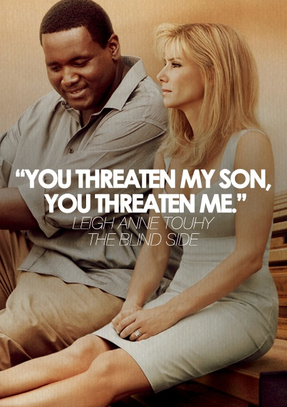 Favorite Quotes From The Blind Side. QuotesGram