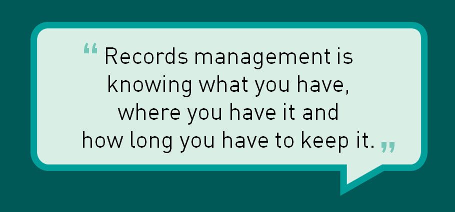 Quotes About Records Management Quotesgram