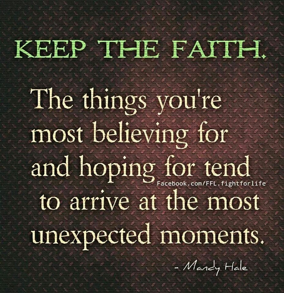 Keep The Faith Quotes. QuotesGram