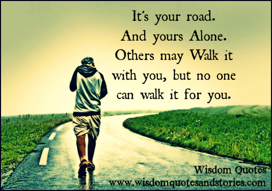 When Your Alone Quotes. QuotesGram