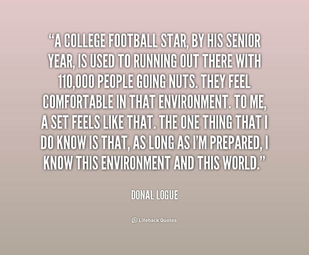 High School Senior Sports Quotes: Senior Year Football Quotes. QuotesGram