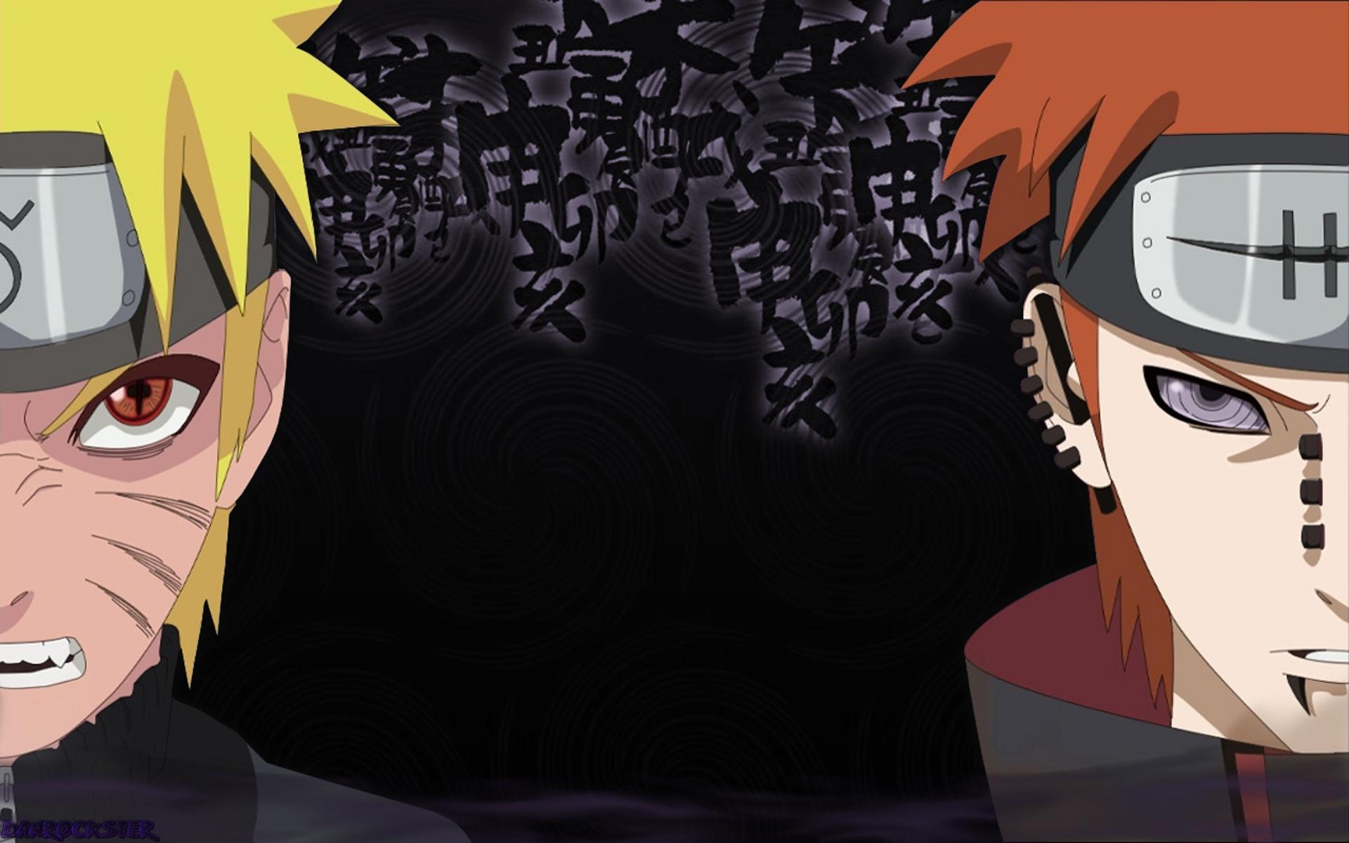 1117425167 Naruto vs Pain Wallpaper by Danrockster
