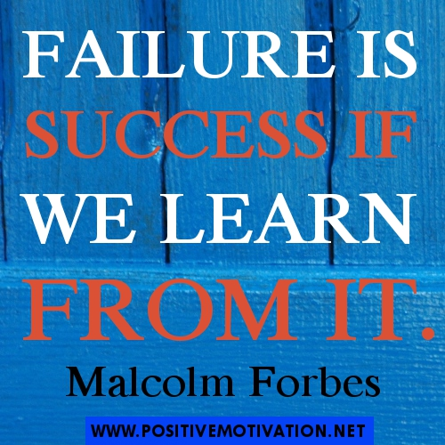 Quotes About Failure Leading To Success: Positive Quotes On Failure. QuotesGram