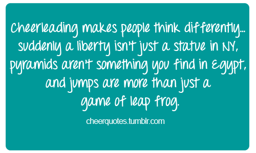 Cute Cheer Quotes And Sayings. QuotesGram
