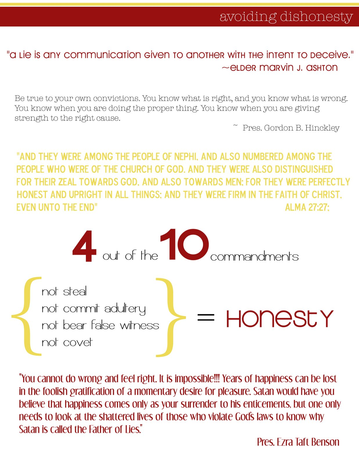 quote about dishonesty in a relationship