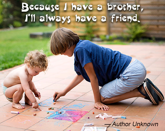 Younger Sister From Brother Quotes. QuotesGram