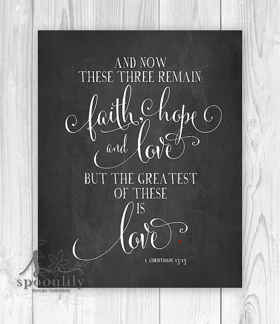 Love Quotes About Life: Bible Quotes On Faith Hope And Love. QuotesGram