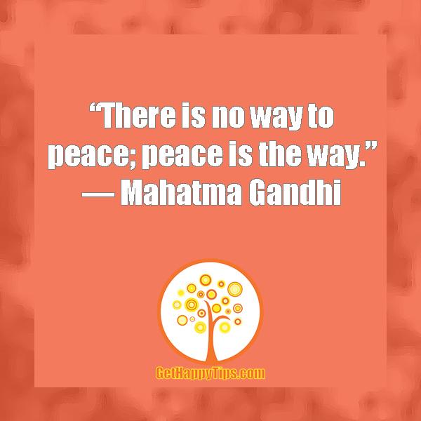 gandhi peace quotes famous quotesgram