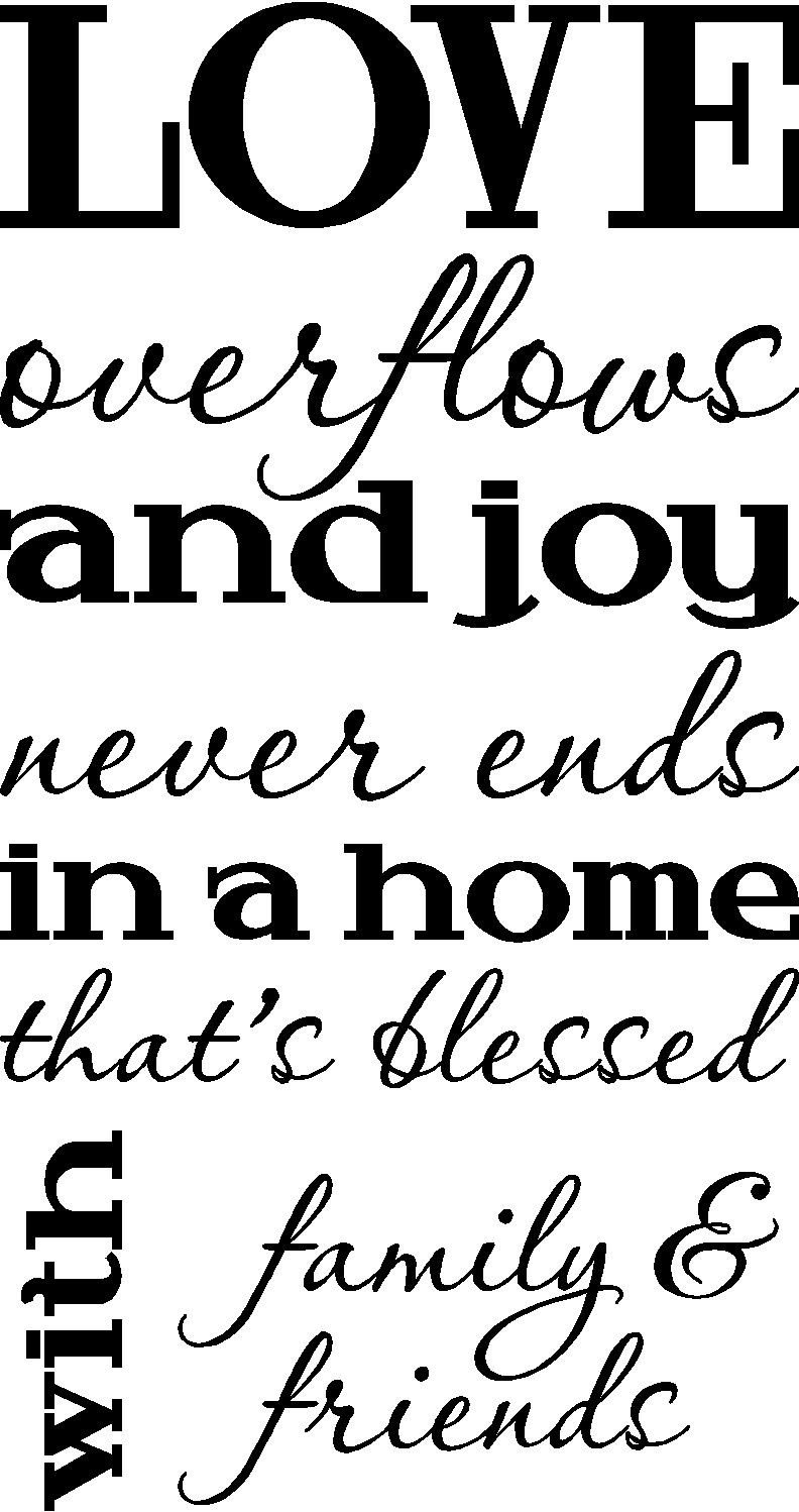 church family and friends quotes quotesgram. Black Bedroom Furniture Sets. Home Design Ideas