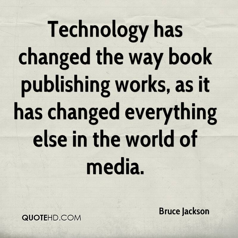 Quotes On Technology: Technology Change Quotes. QuotesGram