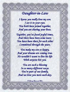 Mothers Day Quotes From Daughter In Law Daughter In Law...