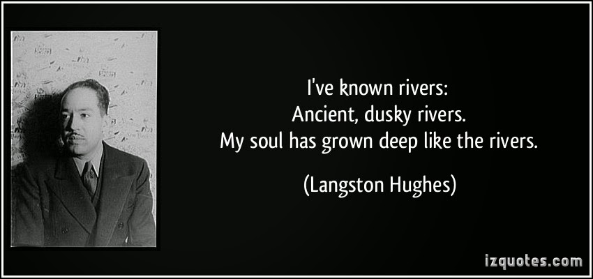 langston hughes quotes on racism quotesgram