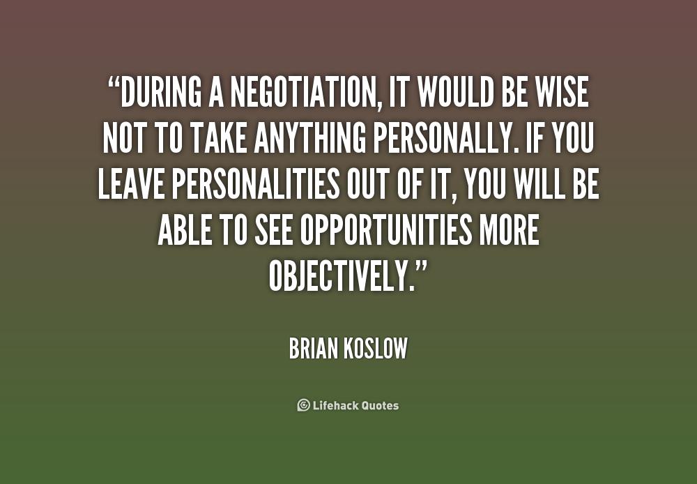Negotiation Quotes Funny Quotesgram