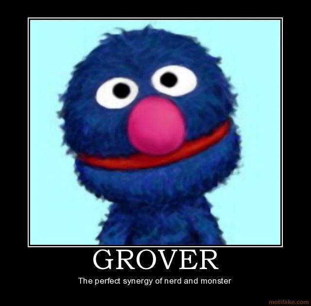 Funny Muppet Meme: Sesame Street Grover Quotes. QuotesGram