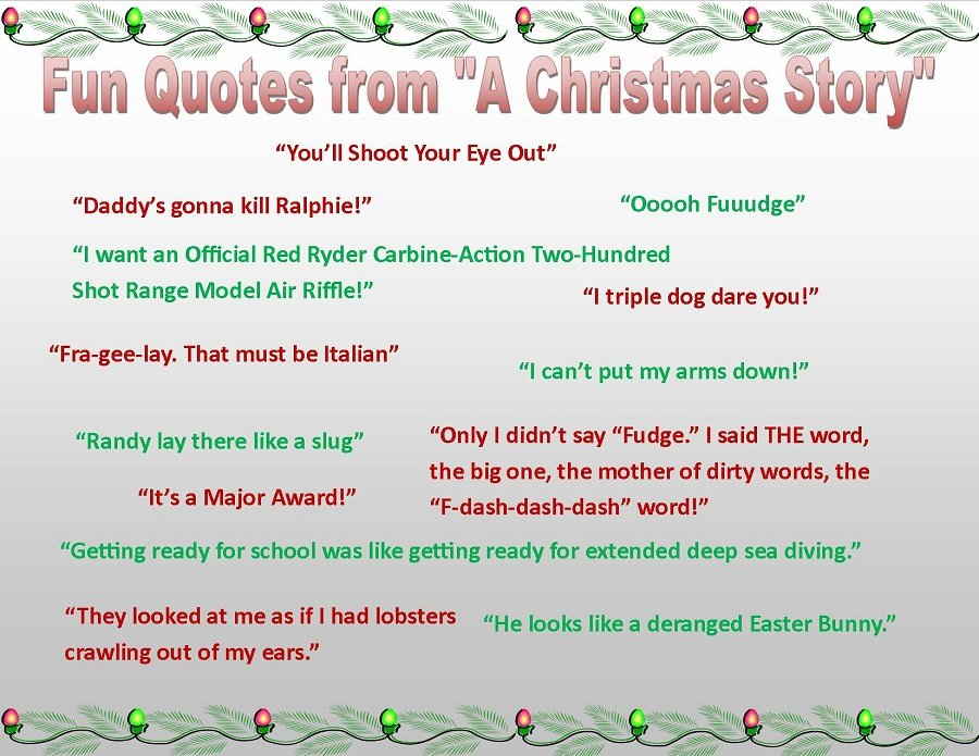 Christmas List Quotes Quotesgram: A Christmas Story Lamp Quotes. QuotesGram