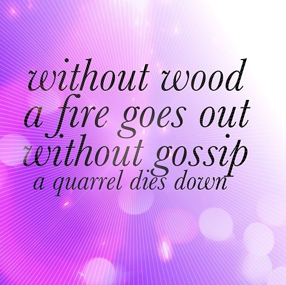 Anti Gossip Quotes. QuotesGram