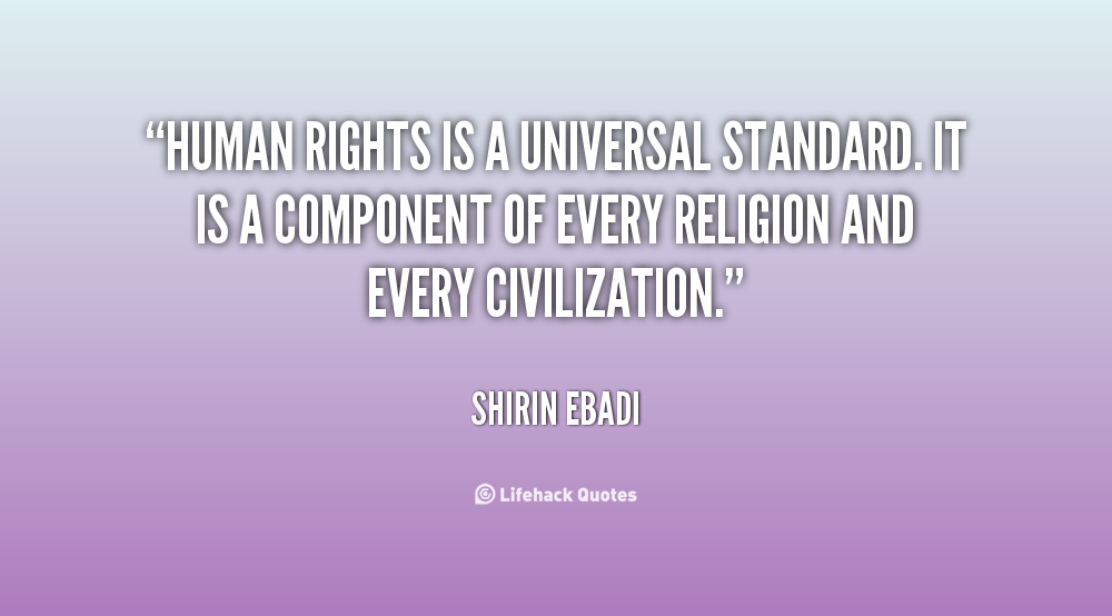 Are human rights universally applicable