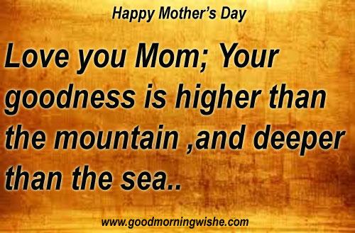 Good Morning Mom Quotes : Good morning mom quotes quotesgram