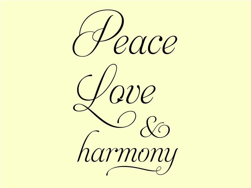 peace and harmony quotes quotesgram. Black Bedroom Furniture Sets. Home Design Ideas
