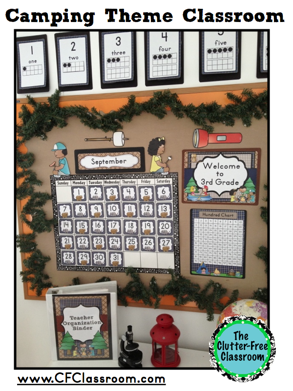 Classroom Decor Camping Theme ~ Quotes clutter free quotesgram