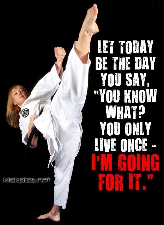 karate girl quotes quotesgram