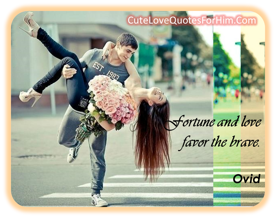 Cute Love Quotes For Him From The Heart. QuotesGram