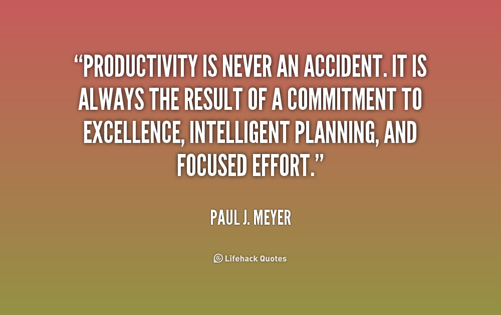 Quotes About Productivity At Work. QuotesGram