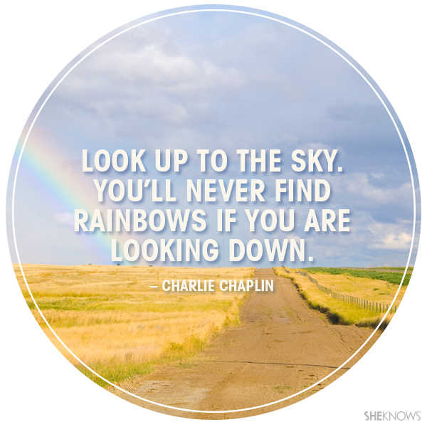Inspirational Quotes About Positive: Look Up To The Sky Quotes. QuotesGram