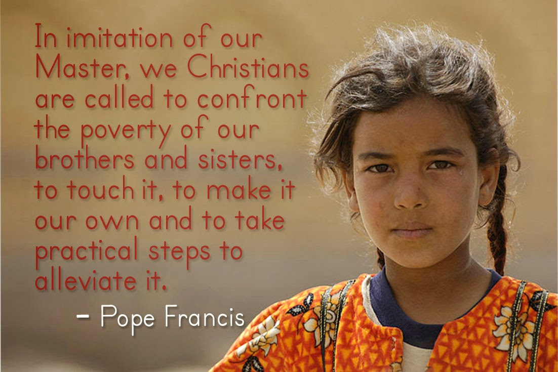 Pope Francis Quotes On Poverty. QuotesGram