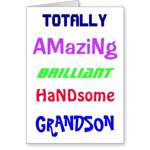 Birthday Card Grandson Quotes. QuotesGram