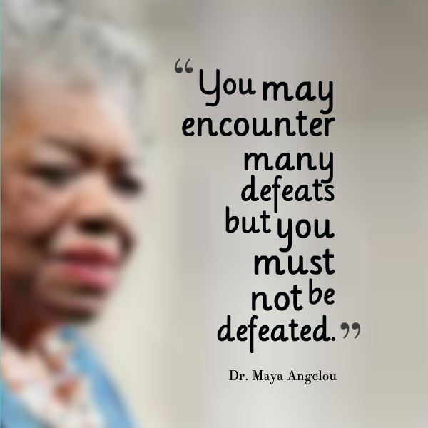 new directions by maya angelou