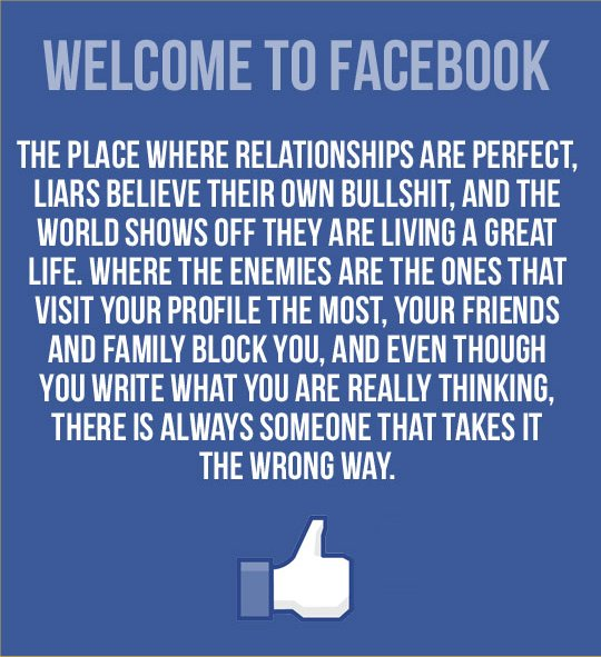 Funny Facebook Quotes About Relationships. QuotesGram