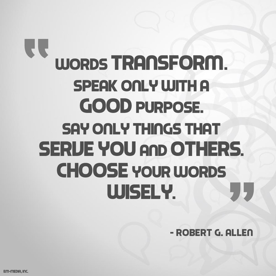 how to use the word quotes