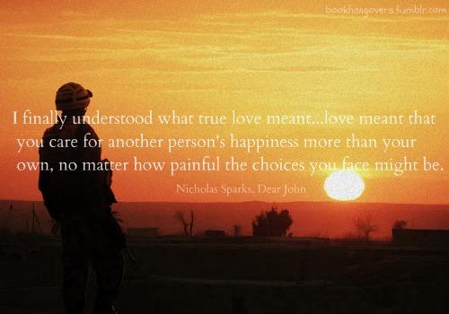 Quotes Nicholas Sparks Dear John: Nicholas Sparks Quotes Dear John. QuotesGram